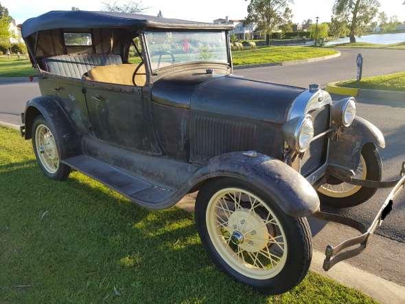 Auto Ford A Phaeton 1929