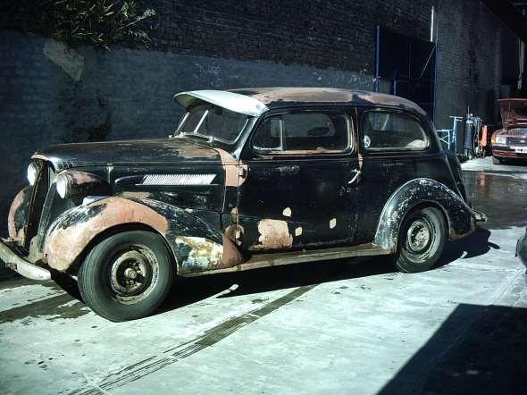 Auto Chevrolet Master 1937