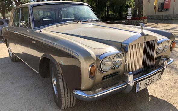 Auto Rolls Royce Silver Shadow