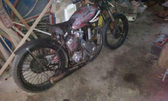 Moto BSA 350 B31