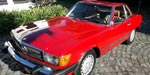Mercedes Benz  560 SL Roadster Red