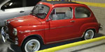 Fiat 600 Sunroof 1963