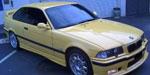 BMW 328i Clubsport Yellow Power