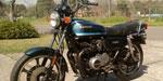 Kawasaki Z550 1981