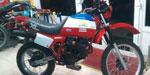 Honda XL 250 París Dakar