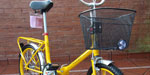 Bicicleta Plegable Butterflies R20