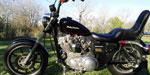 Harley Davidson Esportsters 883 XLH Hugger 1990