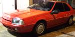 Renault Fuego Gta Max 1991